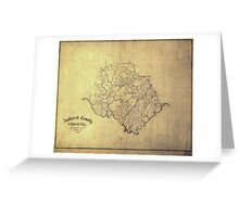 120 Amherst County Virginia Greeting Card