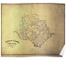 120 Amherst County Virginia Poster