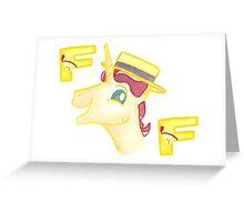Flim Flam Greeting Card