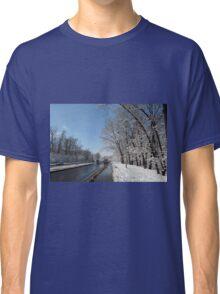 winter road, Siberia, Russia Classic T-Shirt