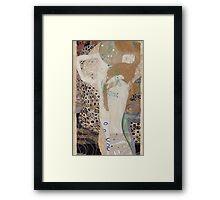 Gustav Klimt  - Water Serpents Framed Print