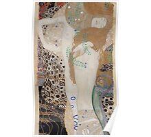 Klimt - Water Serpents Poster