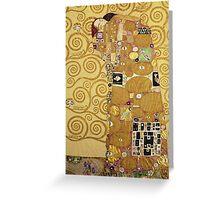 Gustav Klimt  - The Embrace Greeting Card