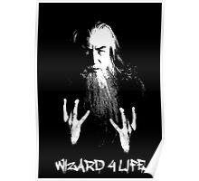 Wizard 4 Life - Gandalf Poster