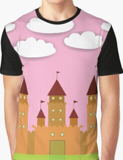 Castle happy birthday card Graphic T-Shirt