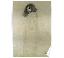 Gustav Klimt  - Portrait Of A Young Woman Poster