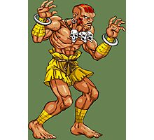 Dhalsim - indian fighter Photographic Print