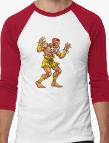 Dhalsim - indian fighter Men's Baseball ¾ T-Shirt