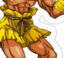 Dhalsim - indian fighter Sticker