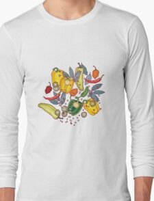 hot & spicy 2 Long Sleeve T-Shirt