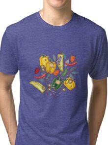 hot & spicy 2 Tri-blend T-Shirt