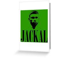 Carl Frampton - Jackal Greeting Card