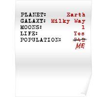 Population: ME!! Poster