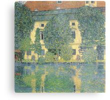 Klimt - The Schloss Kammer On The Attersee Iii Metal Print