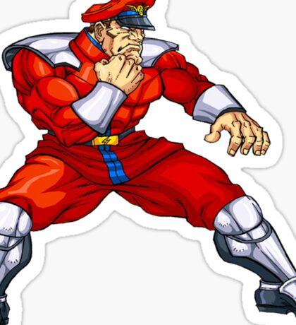 Mr. Bison - special guest fighter Sticker