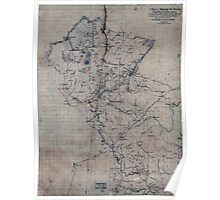 114 A map of Fauquier Co Virginia Poster