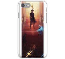 Fate Zero Irisviel Kiritsugu Saber Stairs iPhone Case/Skin