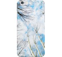 Under a Sky Full of Couds iPhone Case/Skin