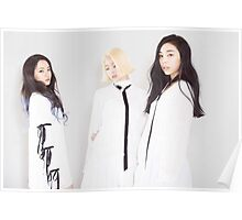 Ladies Code Wearing White Poster