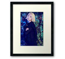 Blue Eyed Zuny Framed Print