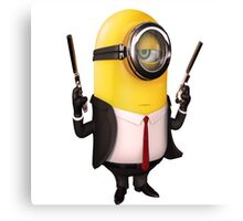 Minion|Minions|Hitman Canvas Print