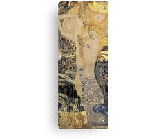 Gustav Klimt  - Water Serpents Canvas Print