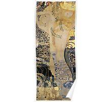 Klimt - Water Serpents I  Poster