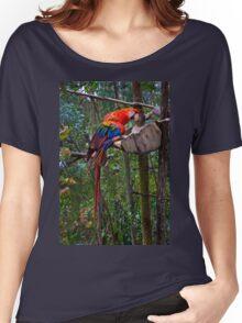 Amaru Parrot Women's Relaxed Fit T-Shirt
