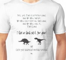curse your sudden but inevitable betrayal, firefly, grey Unisex T-Shirt