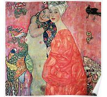 Klimt - Women Friends Poster