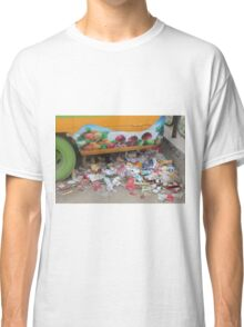 FRUIT AND colourful TRASH in BEIJING Classic T-Shirt