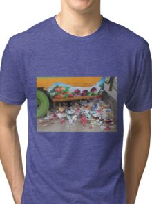 FRUIT AND colourful TRASH in BEIJING Tri-blend T-Shirt