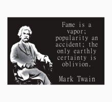 Fame Is A Vapor - Twain One Piece - Short Sleeve