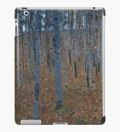 Klimt - Beech Grove . Gustav Klimt - Landscape . Austrian Trees iPad Case/Skin