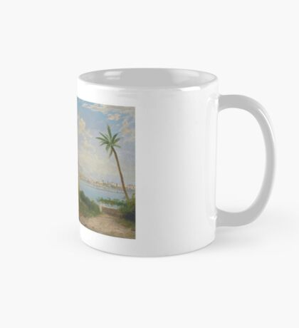 Georg Fischhof. - Vienna - . Sign with Pseudomonas A. L... Terni. Italian waterside scenery with towns   Mug