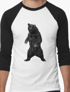 Majestic Grizzly Men's Baseball ¾ T-Shirt