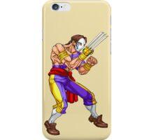 Vega/Barlog - iron fighter iPhone Case/Skin