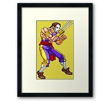 Vega/Barlog - iron fighter Framed Print