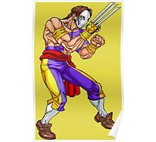 Vega/Barlog - iron fighter Poster
