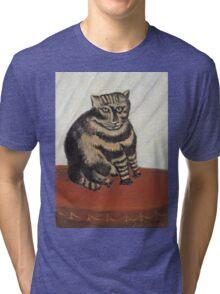Henri Rousseau - The Tabby Tri-blend T-Shirt