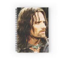 Aragorn Painting Spiral Notebook