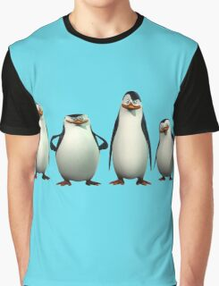 Penguins of Madagascar 9 Graphic T-Shirt