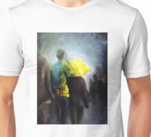 More rain, 2011, 24-30cm, oil on canvas Unisex T-Shirt