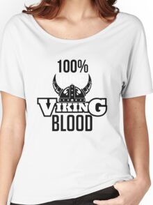 100% pure viking blood Women's Relaxed Fit T-Shirt