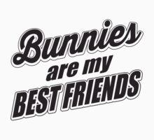 Bunnies are my best friends One Piece - Short Sleeve
