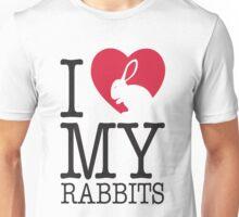 I love my rabbits Unisex T-Shirt