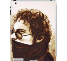 Portrait of boy, 2011, 30-22cm, watercolor on wood panel iPad Case/Skin