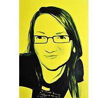 Poster girl, 2011, 50-70, acryl on canvas Photographic Print