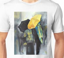 Rain in Amsterdam, 2011, 24-30cm, oil on canvas Unisex T-Shirt