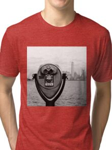 Manhattan NY Tri-blend T-Shirt